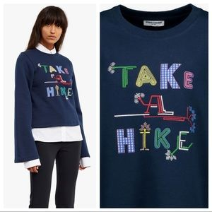 Opening Ceremony XS Take a Hike Sweatshirt Top